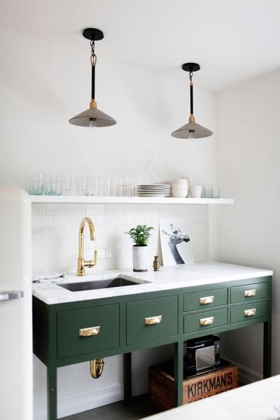 Green Basic Kitchen