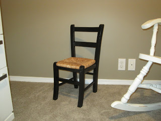Childs Chair – refinished