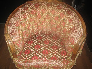 Vintage Chair Reupholstered