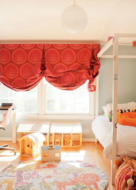 Fun and Classic Window Treatments