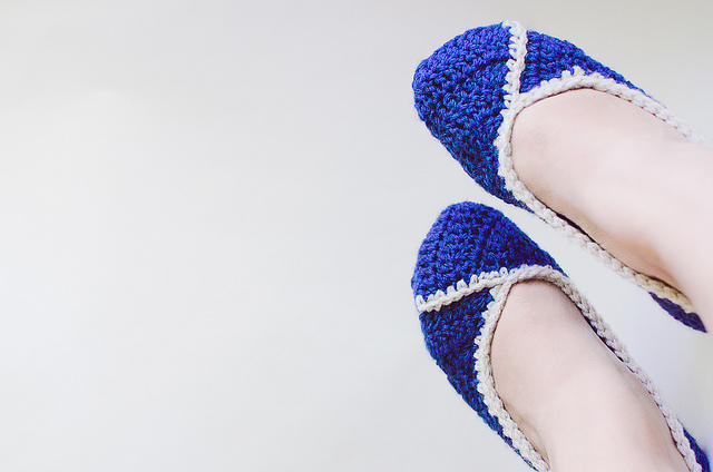 Free Crochet Pattern for Womens Slippers