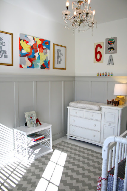 Classic and Contemporary Nursery