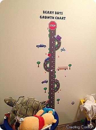 Play Room Decor– Growth Charts