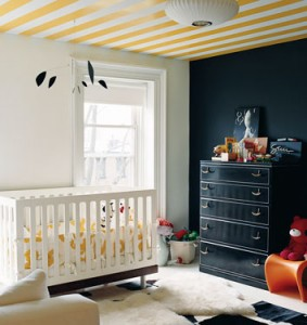 Design Trend – The Ceiling is the New Feature Wall