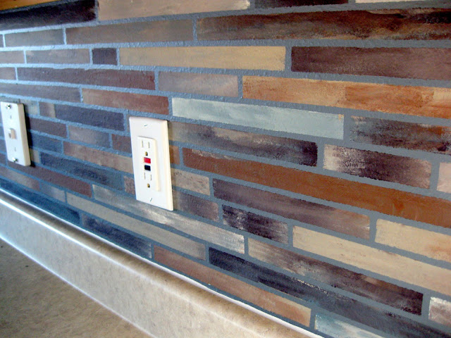 Painted Backsplash Tiles- Budget Friendly Alternatives