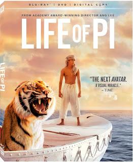 Life of PI on BluRay