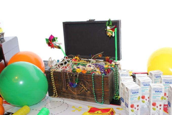 Pirate Birthday Party Decor