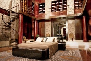 Jay Gatsby Bedroom