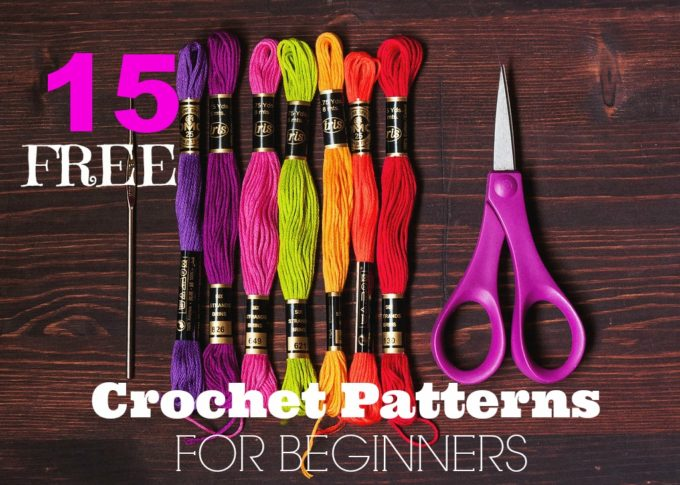 15 Free Crochet Patterns For Beginners