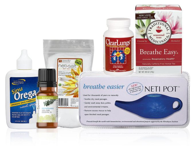 Allergies, Neti Pot, and Essential Oils