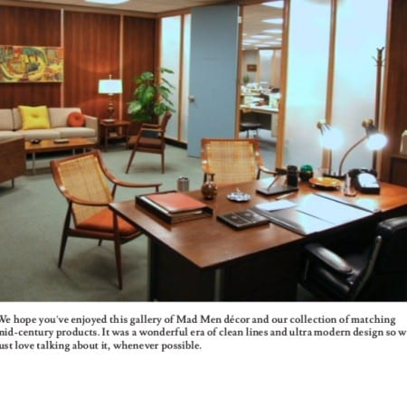 Mad Men Interior Style
