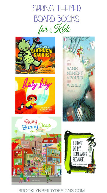 Spring Theme Picture Books For Kids