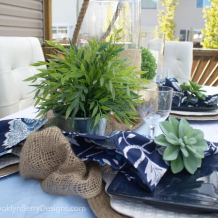 Outdoor Oasis Party – Family BBQ