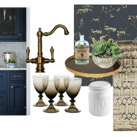 Navy Butlers Pantry – Design Inspiration