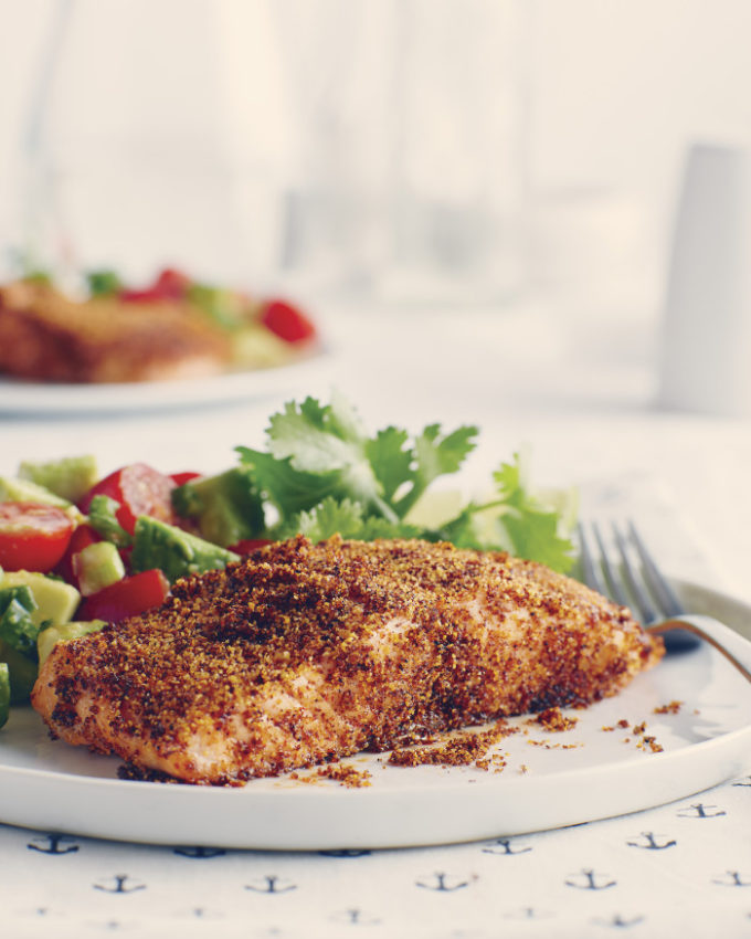 Chili Crusted Salmon