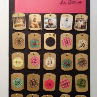 Wooden Scripture Advent Calendar