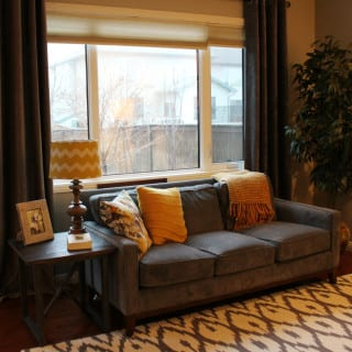Grey Gold Living Room Edesign – Client Update