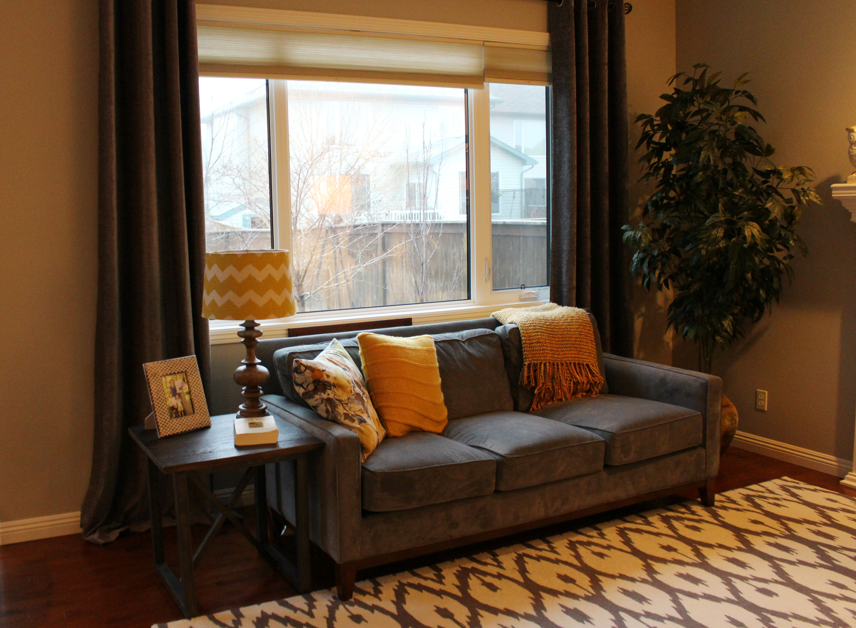 Grey Gold Living Room Edesign Client Update Brooklyn