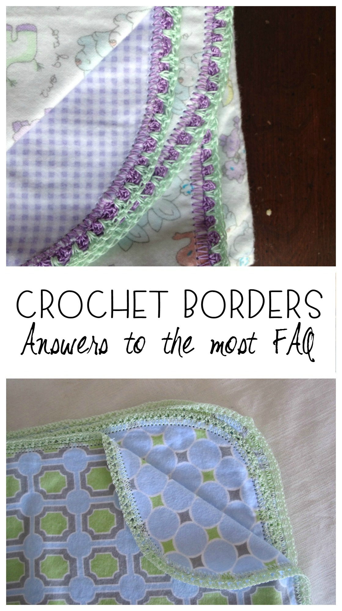 crochet hemstitch FAQ