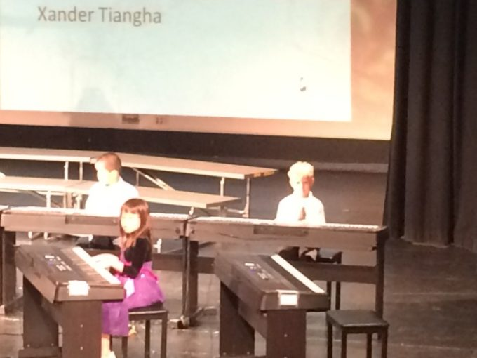 The grand finale of piano lessons - Year End With Yamaha
