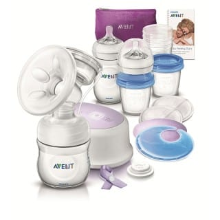Avent Comfort Single Pump Review- #aventmoms