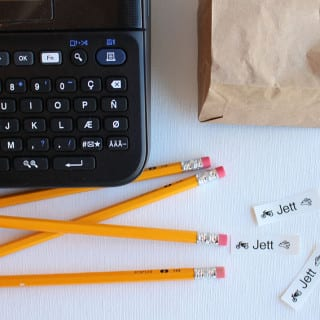 Back To School Made Easy – 4 Label Maker Projects