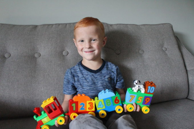 Meeting Milestones with Lego Duplo