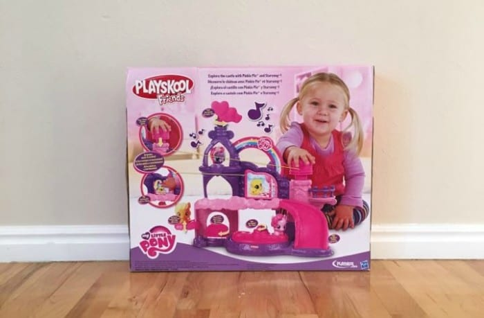 Last Minute Gift Ideas - My Little Pony Castle