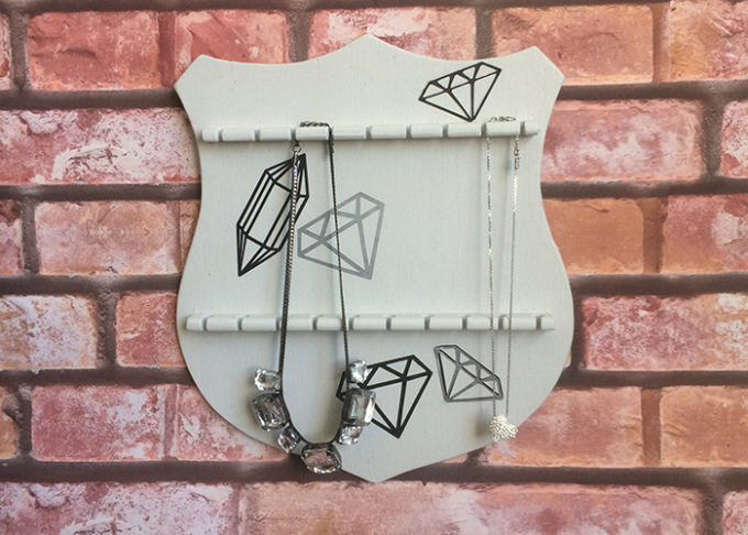 Thrifted DIY Jewelry Holder