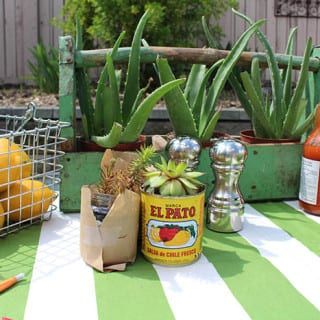 Outdoor Dining and tablescape ideas