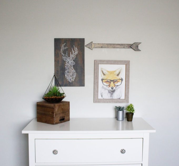 Cute boys rooms. Art and decor for kids rooms that could also be gender neutral room decor.