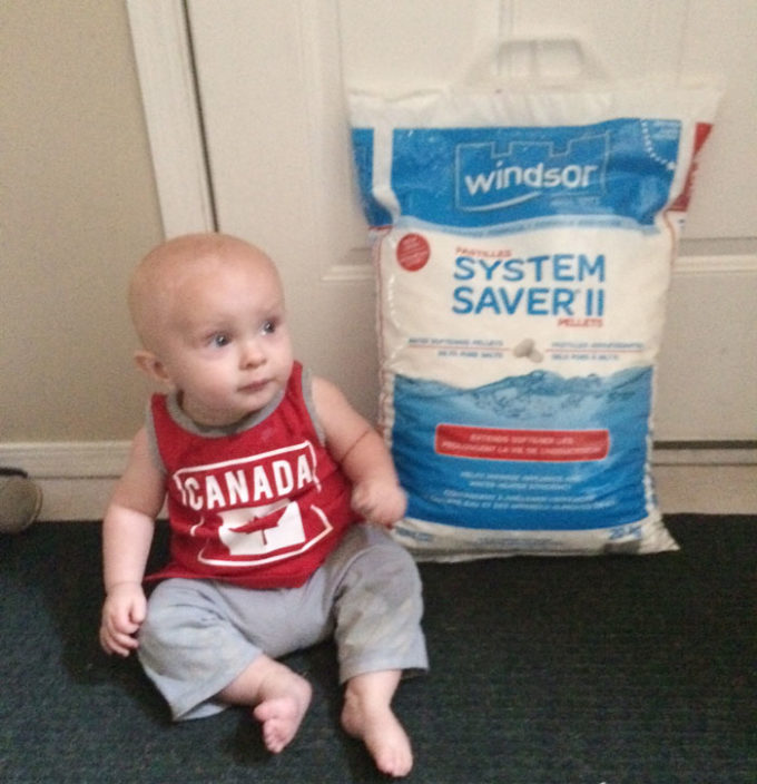 water-softener size