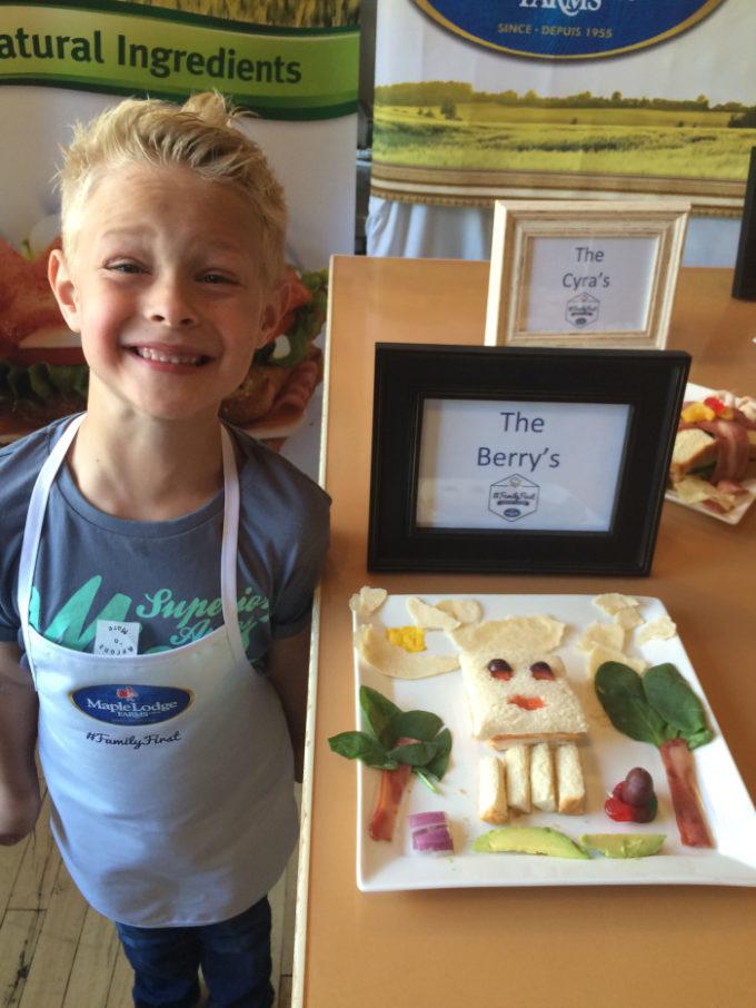 Kid Sandwich Creation