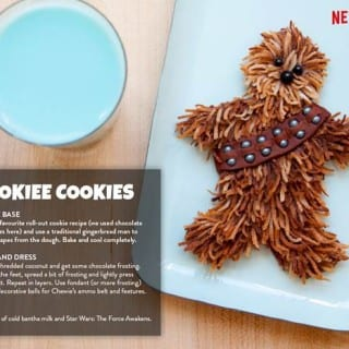 Star Wars The Force Awakens & A Wookie Cookie