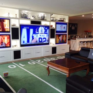 The Ultimate Game Room – Dallas Cowboys Style