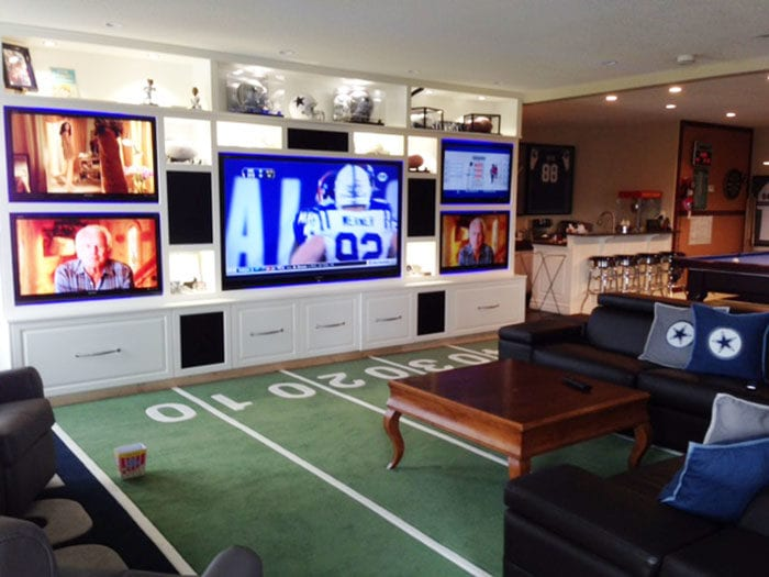The Ultimate Game Room Dallas Cowboys Style Brooklyn