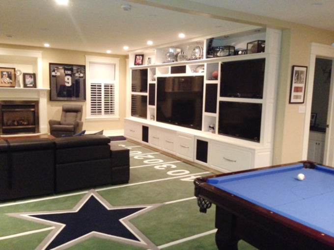 Games Room - Dallas Cowboys Man Cave