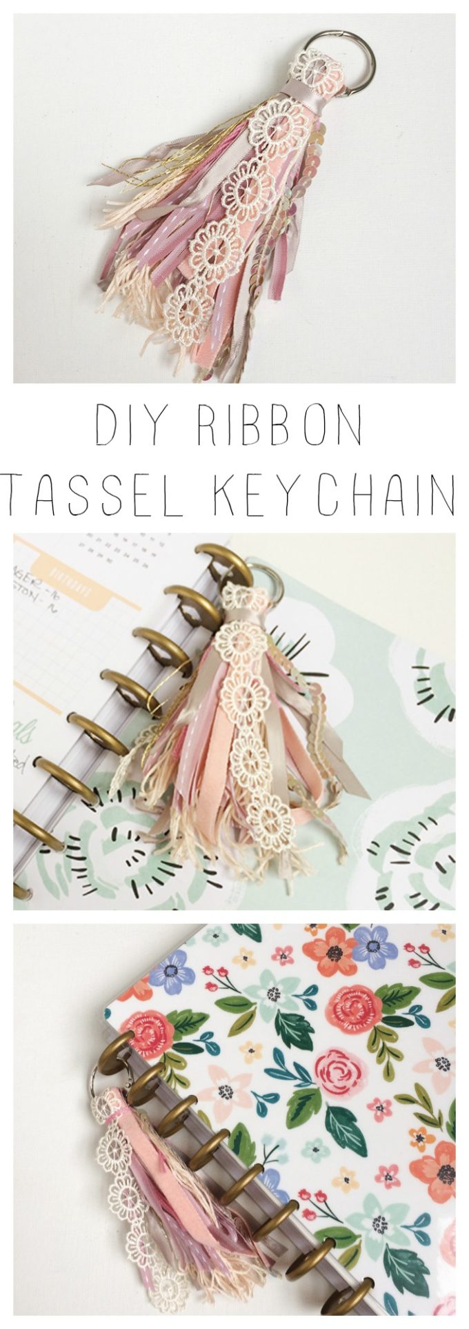ribbon tassel keychain brooklyn berry designs