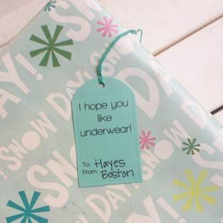 Funny Printable Gift Tags