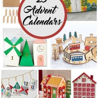 Beautiful Advent Calendars for 2016