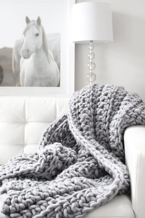 crochet-blanket-hygge Home Decor Trends