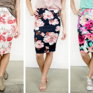 Ways to Style a Pencil Skirt