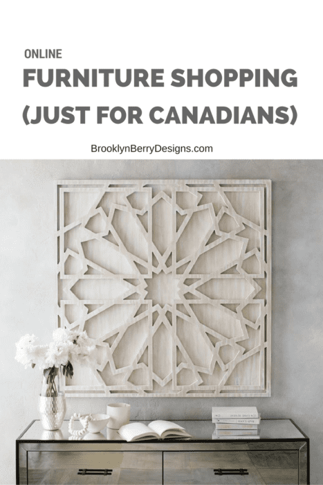 Where To Buy Furniture Online Canada