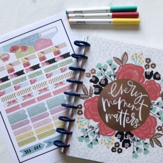 Make Your Own Planner Stickers With Cricut Explore