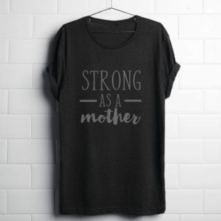Strong As A Mother – Free SVG file