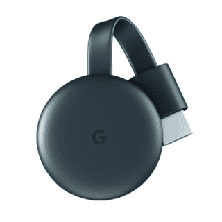 See it. Stream it. With Google Chromecast